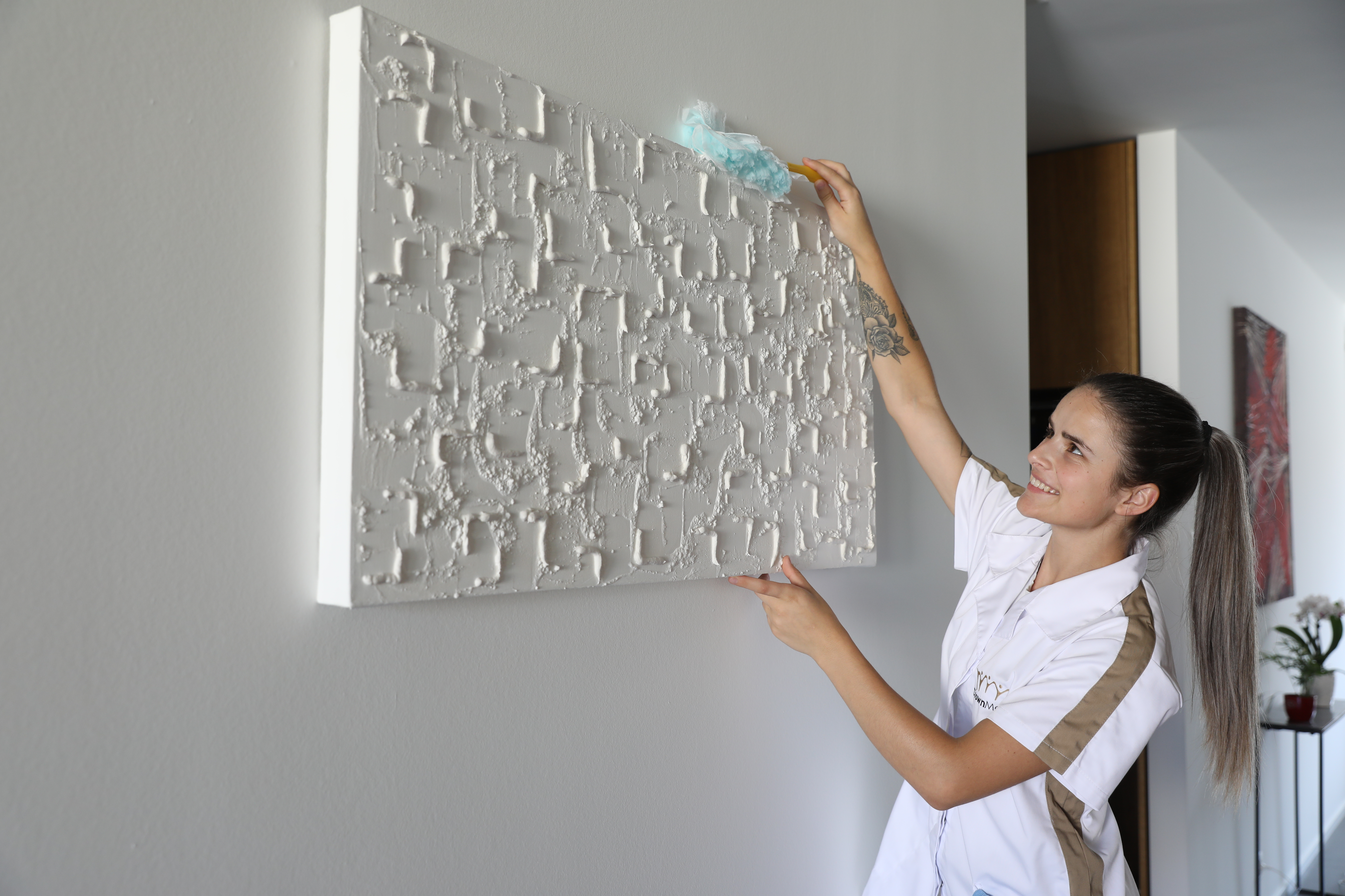 Crown Maids - Dusting Painting